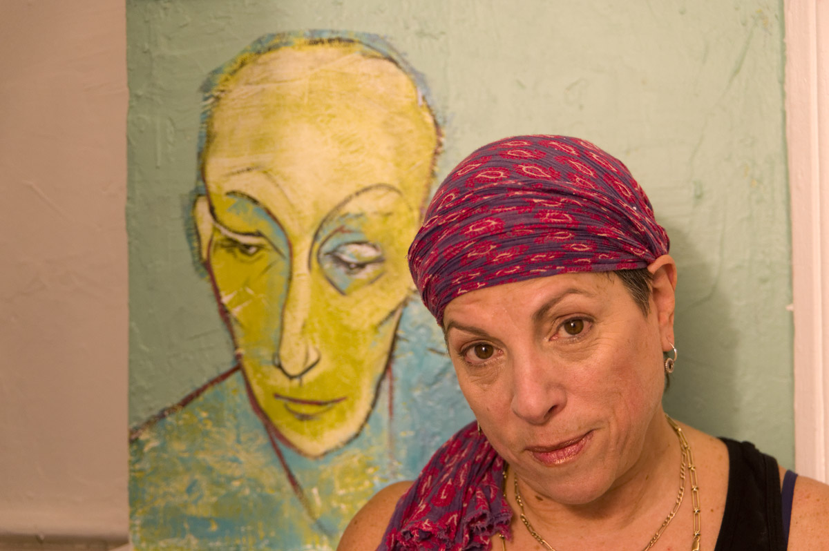 Open studio with artist Hope London