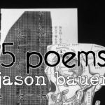 15 poems by Jason Bauer cover drawing