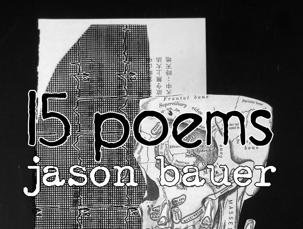 Book Launch '15 POEMS' by Jason Bauer